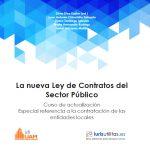 NUEVO LIBRO: LA NUEVA LEY DE CONTRATOS DEL SECTOR PÚBLICO.